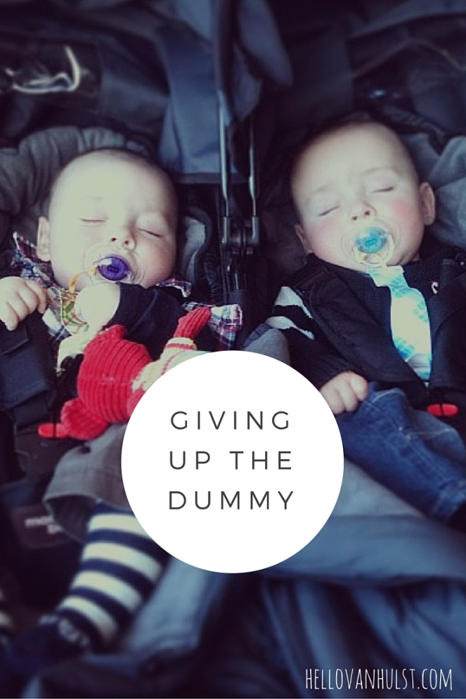 Giving Up the Dummy, The twin life - hellovanhulst.com